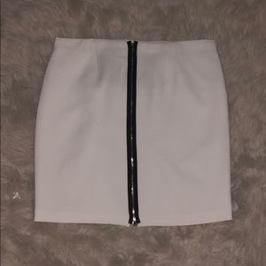 Zip up pencil skirt